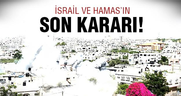İsrail ve Hamas ateşkes konusunda..