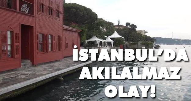 İstanbul boğazında tekne yalı iskelesine çarptı sonra da...