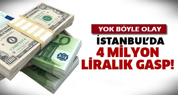 İstanbul Fatih'te film gibi soygun!
