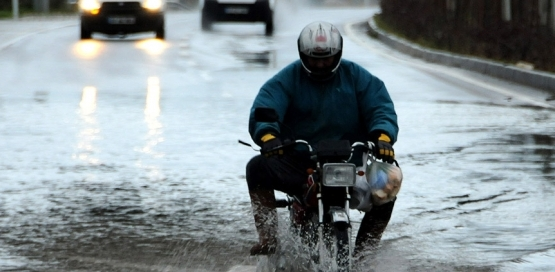 İstanbul gün boyu yağışlı