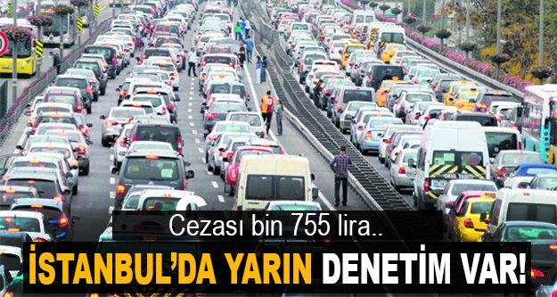 İstanbul için trafik alarmı!