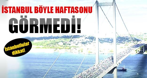 İstanbul için yoğun güvenlik önlemi!