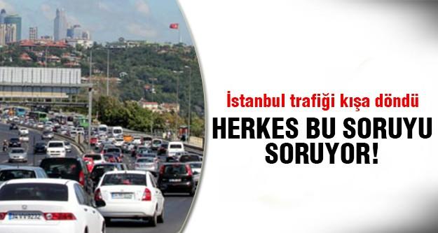 İstanbul trafiği neden yoğunlaştı?