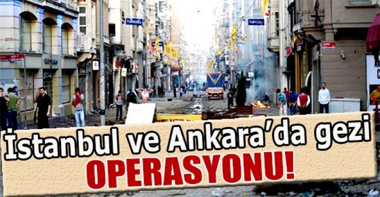 İstanbul ve Ankara'da