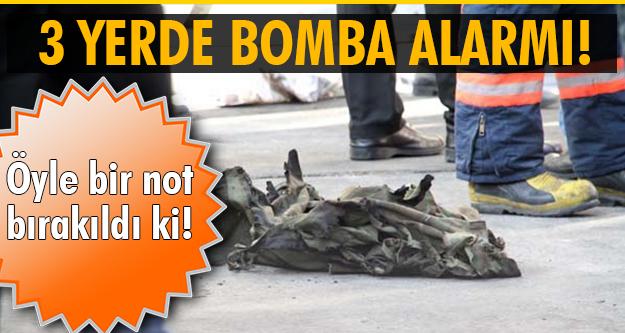İstanbul'da alarm!