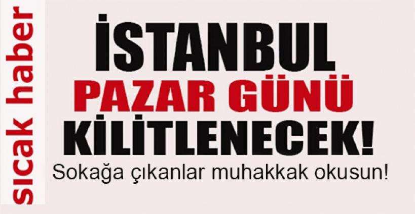 İstanbul'da bisiklet turu sebebiyle pazar günü hangi yollar kapanacak!