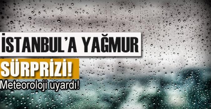 İstanbul güne yağmurla uyandı...