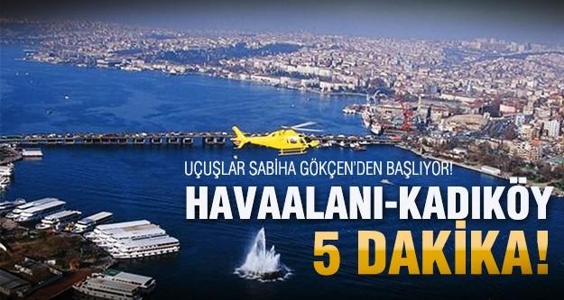 İstanbul'da 'hava taksi' devri