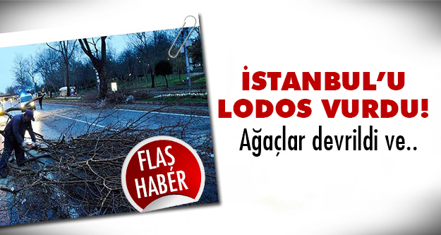 İstanbul'da lodos etkisi sürüyor!