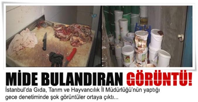 İstanbul'da Polis destekli gıda denetimi