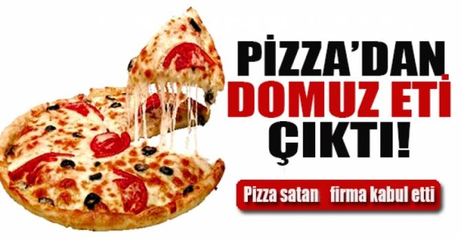 İstanbul'da satılan pizzada domuz eti şoku!