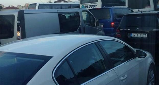 İstanbul'da trafik resmen durdu!