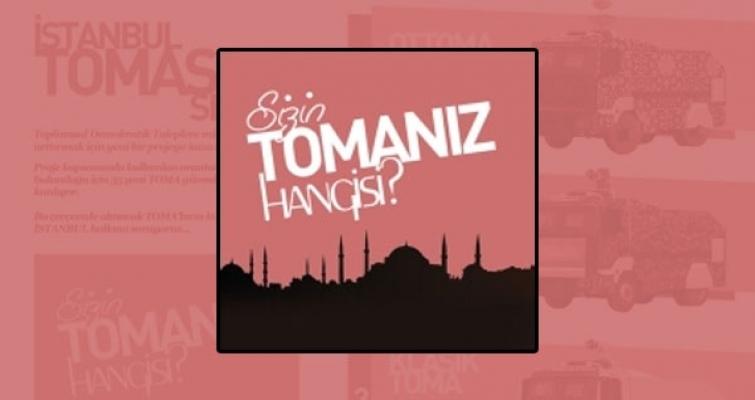 İstanbullu TOMA'sını Seçiyor!