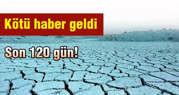 İstanbul'u bu yaz kuraklık bekliyor