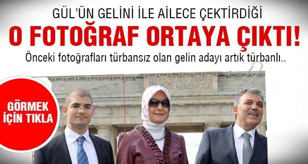 İşte Abdullah Gül'ün doktor gelini..