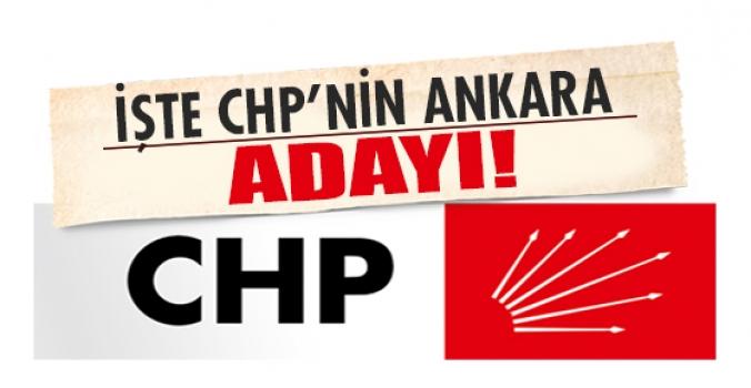 İşte CHP'nin Ankara İçin sürpriz adayı!