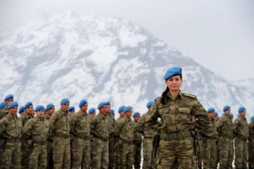 İşte Doğu'nun Kadın Komutanları!
