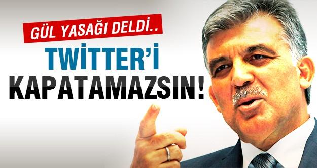 İşte Gül'den flaş twitter açıklaması!