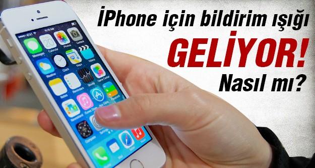İşte İphone için hazırlanan o yenilik!