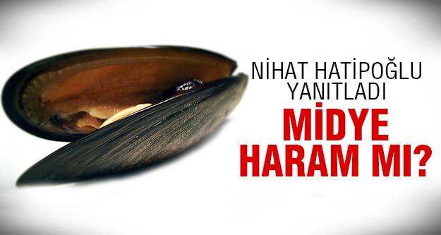 İşte Nihat Hoca'dan midye açıklaması...