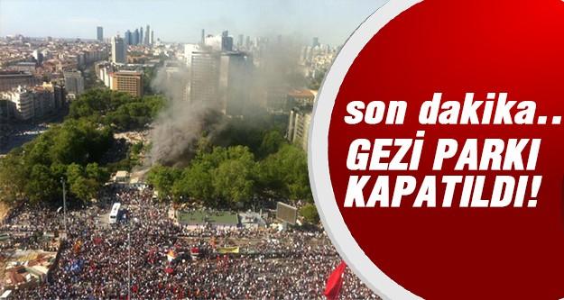İşte Taksim'de son durum!