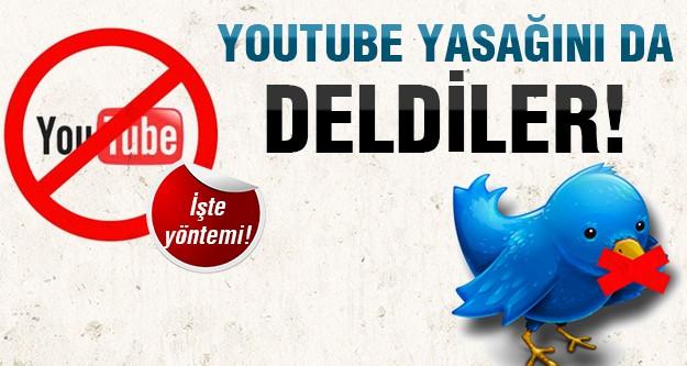 İşte YouTube ve Twitter'e giriş yolu!