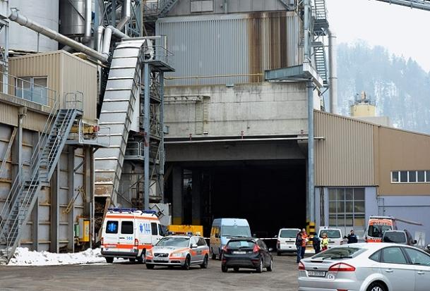 İsviçre'de fabrikaya silahlı saldırı