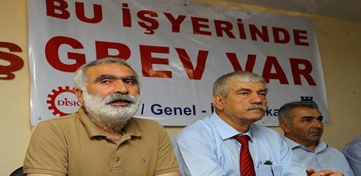 İzmir'de grev hazırlığı
