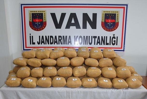 Jandarma'dan ''uyuşturucu sevkıyatı'' açıklaması