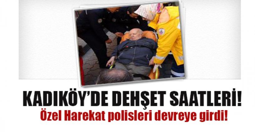 Kadıköy'de korku dolu anlar..