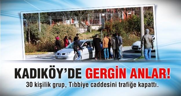 Kadıköy'de miting öncesi gerginlik