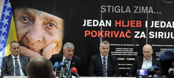 Kampanyaya en anlamlı destek Bosna Hersek'ten