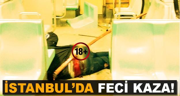 Kan donduran metro kazası!