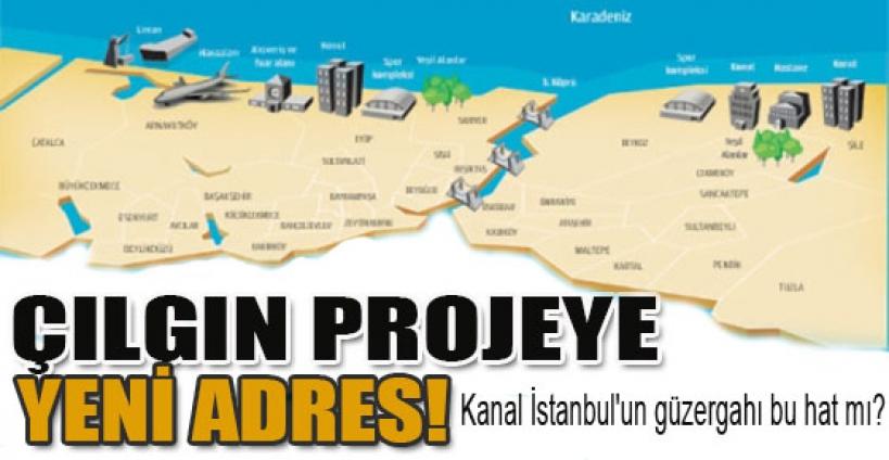 Kanal İstanbul'un güzergahı bu hat mı?