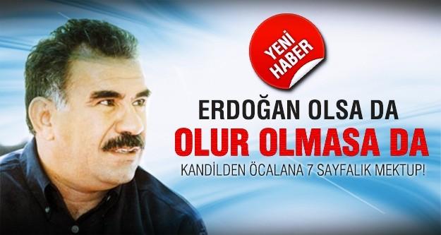 Kandil'den Öcalan'a 7 sayfalık mektup