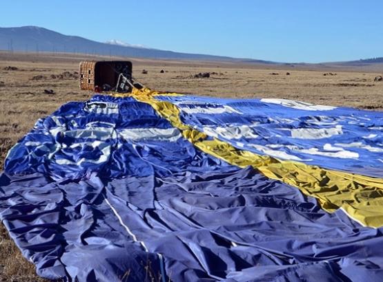Kars'ta balon kazası