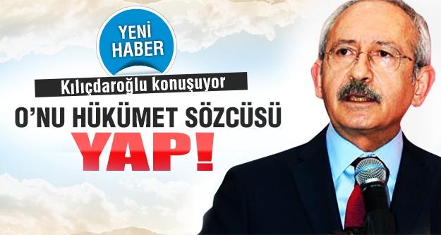 Kemal Kılıçdaroğlu konuşuyor