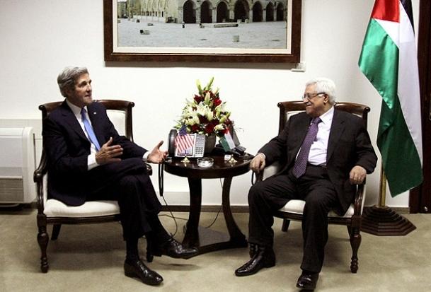 Kerry, Abbas ile görüştü