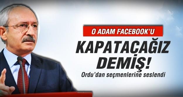 Kılıçdaroğlu, Erdoğan'ı Facebook ile vurdu!