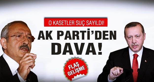 Kılıçdaroğlu'na dava!