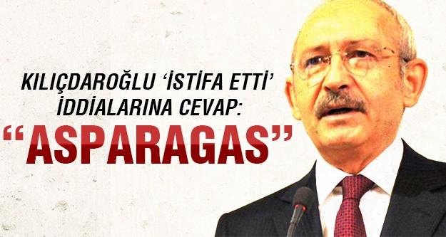 Kılıçdaroğlu'ndan istifa dedikodularına açıklama!