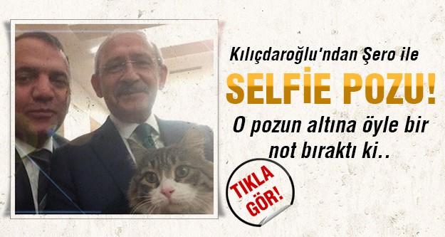 Kılıçdaroğlu'nun bu pozu twitter'i salladı!