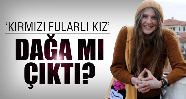 Kırmızı fularlı kız PKK'ya mı katıldı?