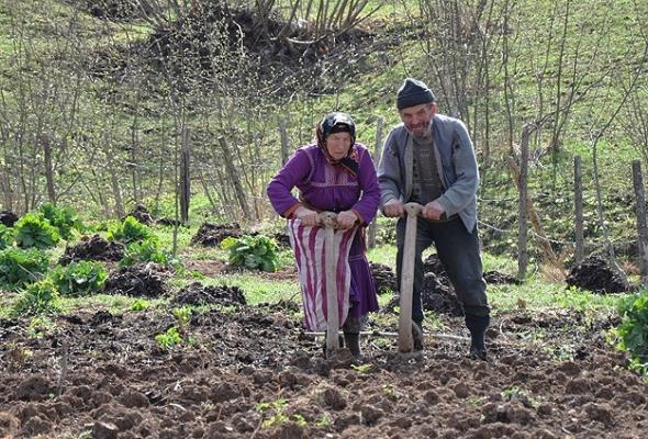 Kırsal nüfus yaşlanıyor