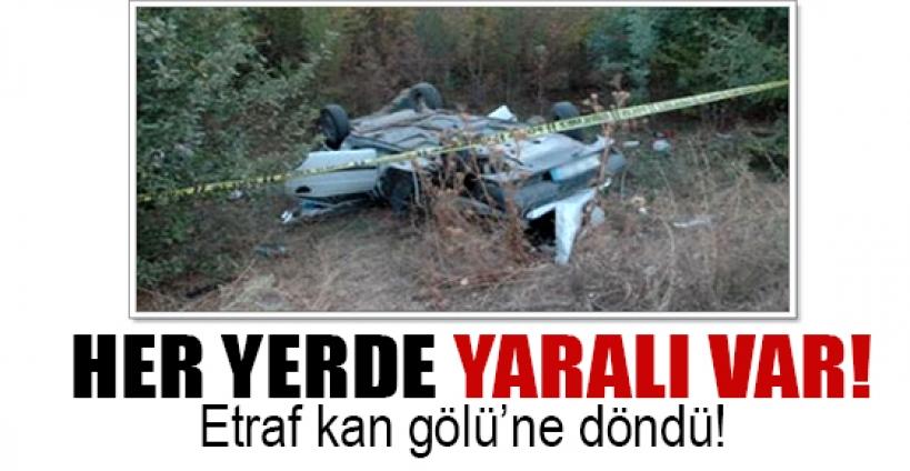 Kırşehir'de can pazarı: 1 ölü 22 yaralı