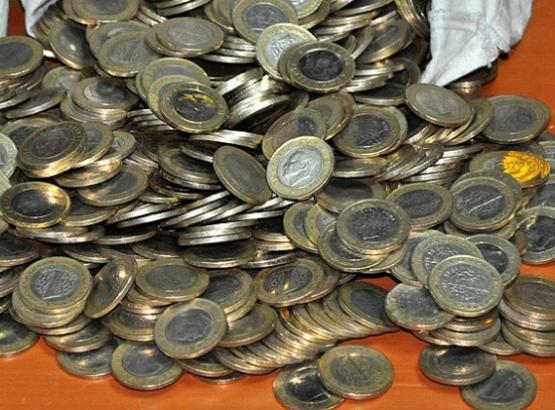 Kişi başına 42 adet bozuk para düşüyor