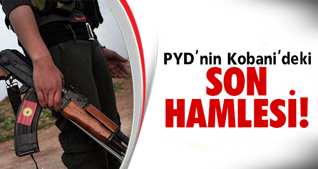 Kobani'de yeni bir hamle yaptı..