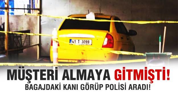 Kocaeli'nde kan donduran taksici cinayeti!