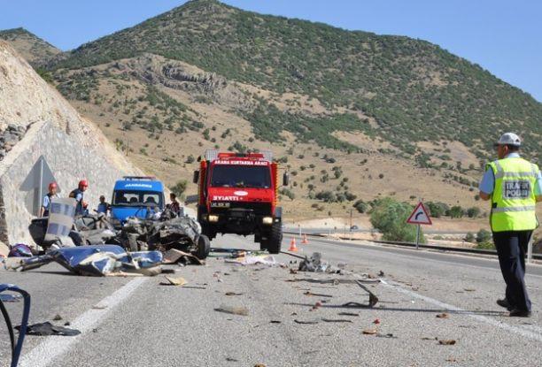 Konya'da trafik kazası: 5 ölü