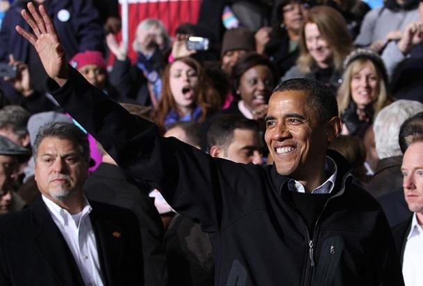 Köylüler ''Obama'' dedi